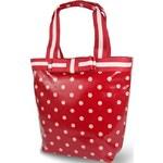 Candy Flowers Červená kabelka s puntíky 4172-175
