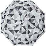 S.Oliver Dámský skládací mechanický deštník Enjoy Color Square - šedý 70805SO18