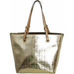 Michael Kors Elegantní business kabelka Jet Set Grab Bag Pale Gold 38T4XTTT4I-2
