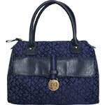 Tommy Hilfiger Elegantní kabelka TH35 modrá