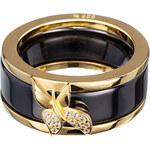Preciosa Prsten Fancy Black 5155Y20 53 mm