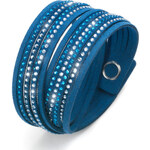 Oliver Weber Náramek Double Cut Blue 32131-243