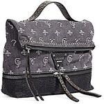 Guess Stylový batoh a kabelka v jednom Dylan Slate Denim Convertible Backpack