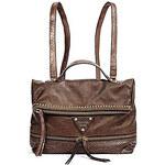 Guess Stylový batoh a kabelka v jednom Dylan Bronze Convertible Backpack