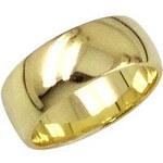 Brilio Zlatý snubní prsten 222 001 00085 48 mm