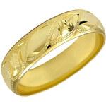 Brilio Zlatý snubní prsten 222 001 00313 48 mm