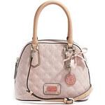 Guess Elegantní kabelka Juliet Amour Dome Satchel Light Pink