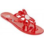 Mel Dámské žabky Flower II Red/Pink 32142-50962 40