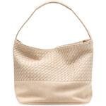 Tamaris Elegantní kabelka Woven Hobo Bag Ivory 1222151-418