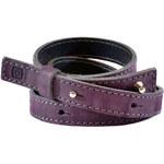 Horsefeathers Kožený opasek Calista Purple AA728B