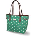 Candy Flowers Zelená kabelka s puntíky 4152-218