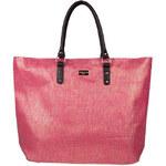 Invuu London Slaměná taška Pink 13B0315