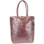 Invuu London Slaměná taška Pink 13B0321-2