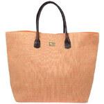 Invuu London Slaměná taška Peach 13B0322-1