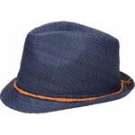 Invuu London Slaměný klobouk Blue 14H0002-1