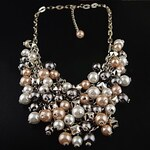 LightInTheBox Women's Metal Chain Layered Pearl Necklace