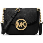 Michael Kors Elegantní crossbody kabelka Small Fulton Crossbody Bag Black 87000-2