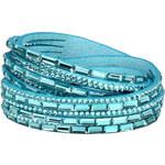 Troli Náramek Wrap 6x Double Aquamarine