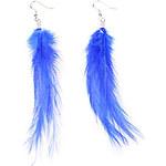 LightInTheBox Korea Bohemia exaggerated color feather earrings earrings wholesale E834