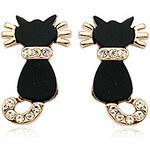 LightInTheBox Mysterious Little Black Cat Ear Studs