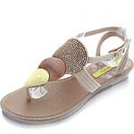 Dámske béžovozlté sandále Grendha Khari Sandal 37