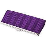 LightInTheBox Colormoon Women's Strips Purple Party Clutch Bag