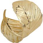 LightInTheBox Fashion Alloy Metal Gold Leaf Cuff Bangle