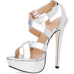LightInTheBox Leatherette Stiletto Heel Sandals Party / Evening Shoes(More Colors)