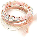 LightInTheBox Fashionable Alloy Pearl With Bow Rhinestone Multi Layers Bracelet