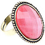 LightInTheBox European And American Retro Wild Flower Ring Hollow Oval Ring