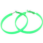 LightInTheBox Candy Color Alloy Circle Pattern Earrings (Assorted Colors)