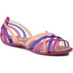 Sandály CROCS - Huarache Flat Women 14121 Vibrant Violet/Melon