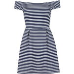 Topshop **Off Shoulder Striped Dress by Wal G