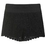 Topshop PETITE Scallop Crochet Shorts