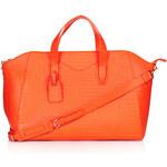 Topshop Croc Winged Luggage Bag