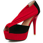 LightInTheBox Stylish Suede Stiletto Heel Peep Toe With Split Joint Party / Evening Shoes(More Colors)