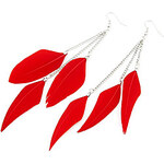 LightInTheBox Colorful Elegant Feather Earrings