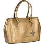 Makgio dámská větší kabelka ve zlaté barvě