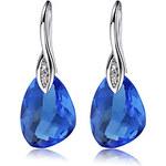 LightInTheBox BESO Women's Blue 925 Silver Cystal Irregular Earings R0071BL-L(1217MM)