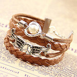 LightInTheBox Western Hand Knitting Cord Bracelet