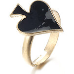 LightInTheBox Fashion Playing Card Style Rings For Girl