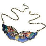 LightInTheBox Vintage Butterfly Acrylic Alloy Necklace