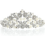 LightInTheBox Alloy Tiaras With Rhinestone/Imitation Pearl For Wedding/Special Occasion