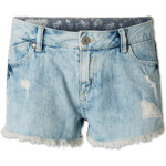 C&A Damen Denim-Shorts in hellblau von Clockhouse