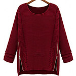 LightInTheBox Women's Cape Sleeve Loose Knitwear