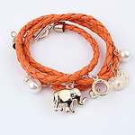 LightInTheBox Women's Summer Look Animal Woven Layered Bracelet