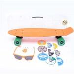 cruiser STEREO - Vinyl Plastic Cruiser Org/Blk/Grn (ORG BLK GRN)