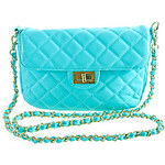LightInTheBox YiFaLanNi Colorful Lady Series Single Shoulder Bag(Blue)