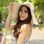LightInTheBox Floppy Beach Straw Hat