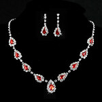 LightInTheBox Elegant Alloy With Rhinestone Women's Jewelry Set Including Necklace, Earrings